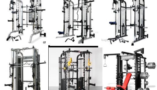 オールインワンパワーラックS122等のタイプ別おすすめ7選、トレーニング方法も説明
